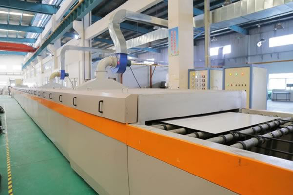 Full-automatic drying line